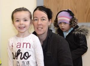 Sophie, Sandra and Kayleigh Kavanagh (Kildare)